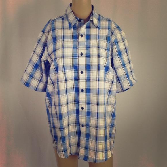 Wrangler Shirts Short Sleeve Button Down Flannel Shirt S Poshmark